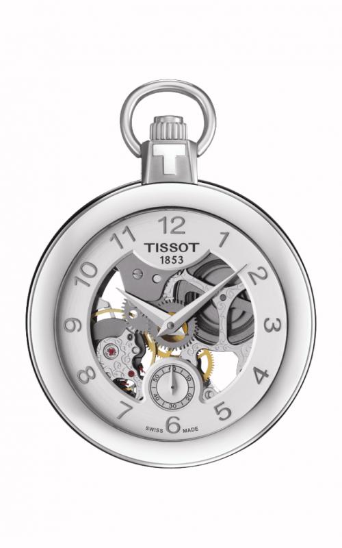 Tissot Pocket Mechanical Skeleton Watch T8534051941200 product image