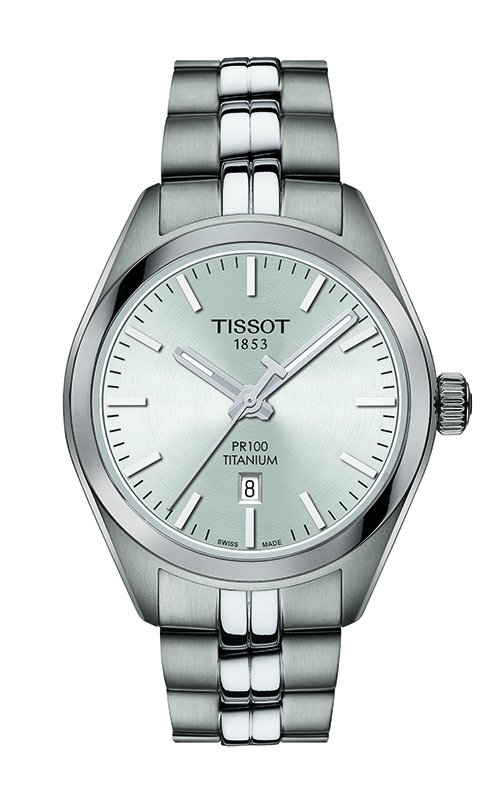 Tissot PR 100 Titanium Quartz Lady Watch T1012104403100 product image