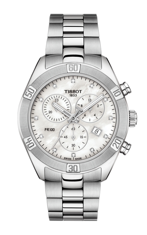 Tissot PR 100 Sport Chic Chronograph Watch T1019171111600 product image