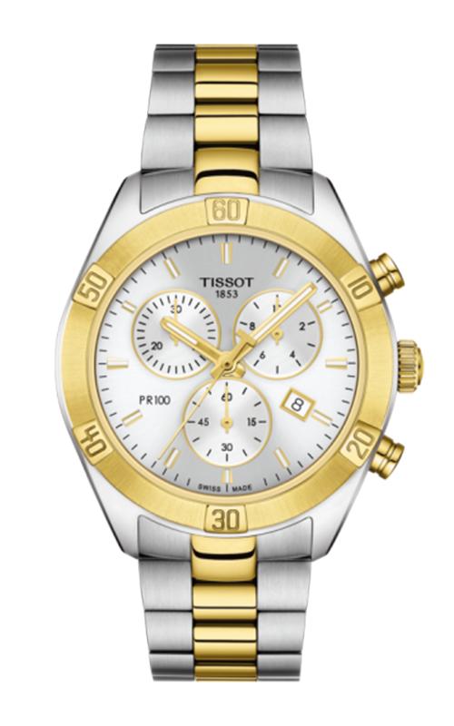 Tissot PR 100 Sport Chic Chronograph Watch T1019172203100 product image