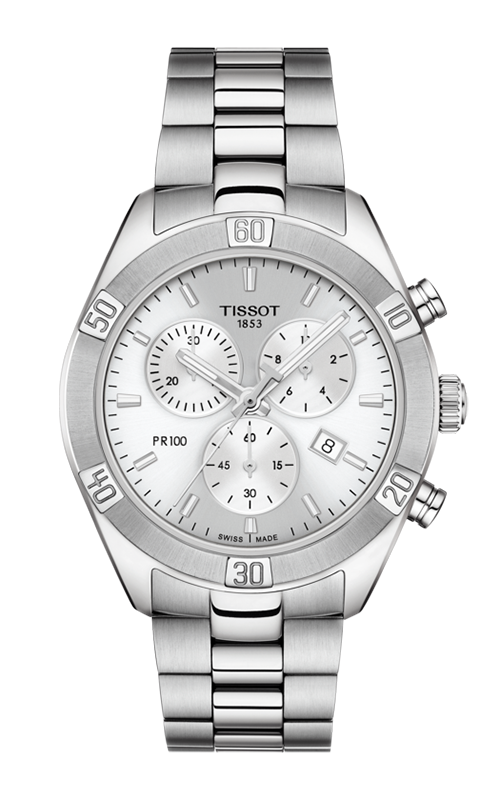 Tissot PR 100 Sport Chic Chronograph Watch T1019171103100 product image