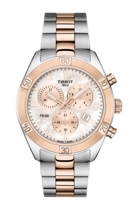 Tissot PR 100 Sport Chic Chronograph Watch T1019172215100 product image