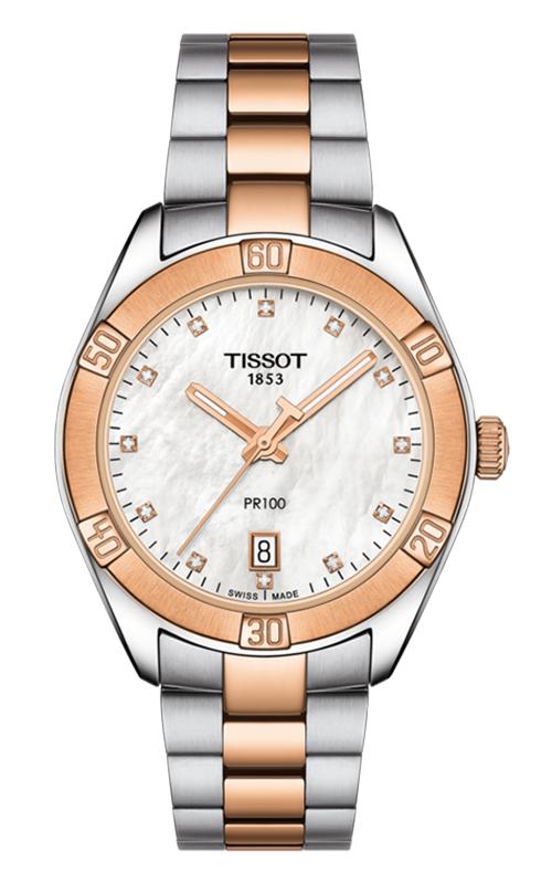 Tissot PR 100 Sport Chic Watch T1019102211600 product image