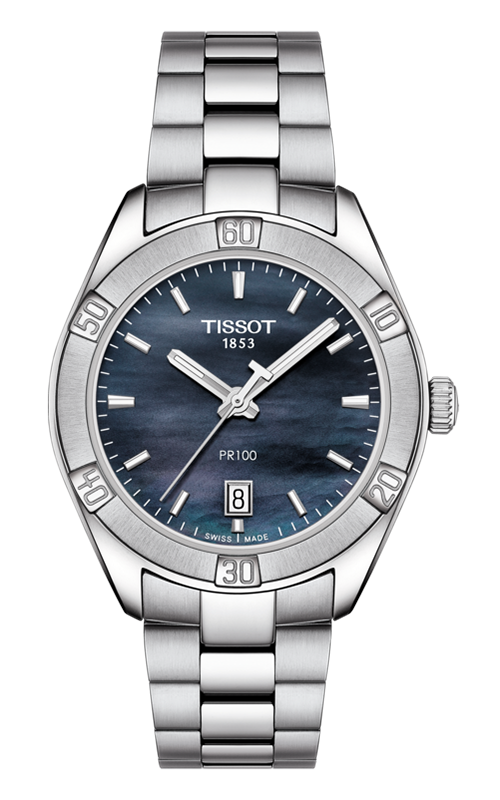 Tissot PR 100 Sport Chic Watch T1019101112100 product image