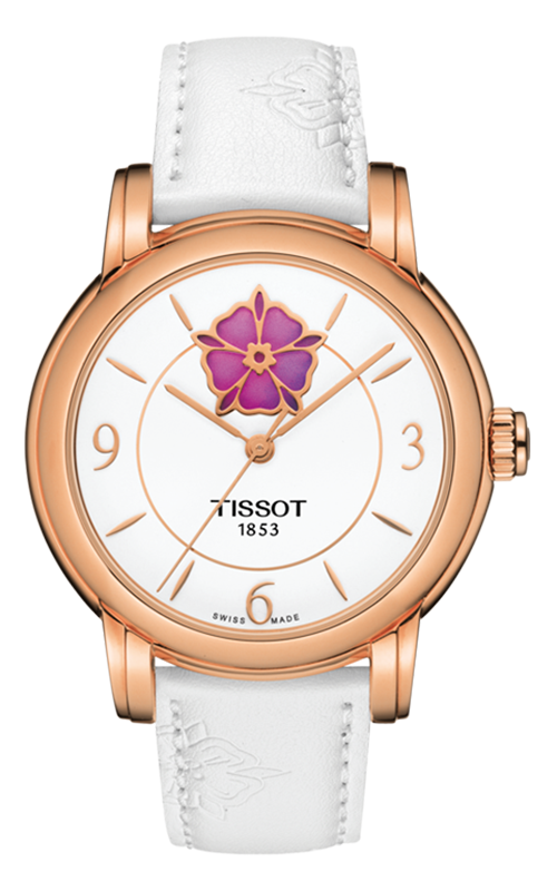 Tissot Lady Heart Flower Powermatic 80 Watch T0502073701705 product image