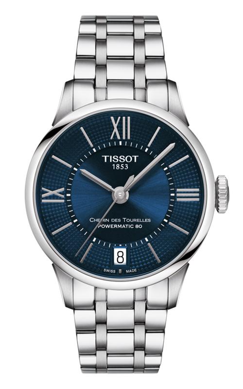 Tissot Chemin Des Toureless Powermatic 80 Lady Watch T0992071104800 product image