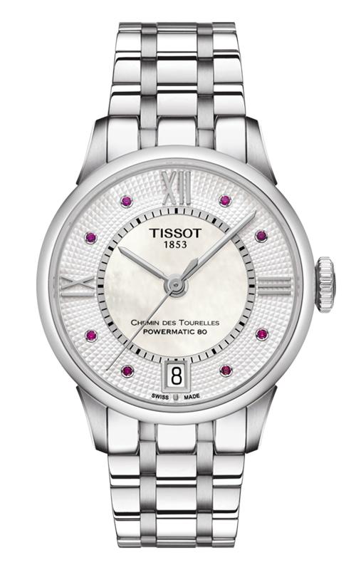 Tissot Chemin Des Toureless Powermatic 80 Lady Watch T0992071111300 product image