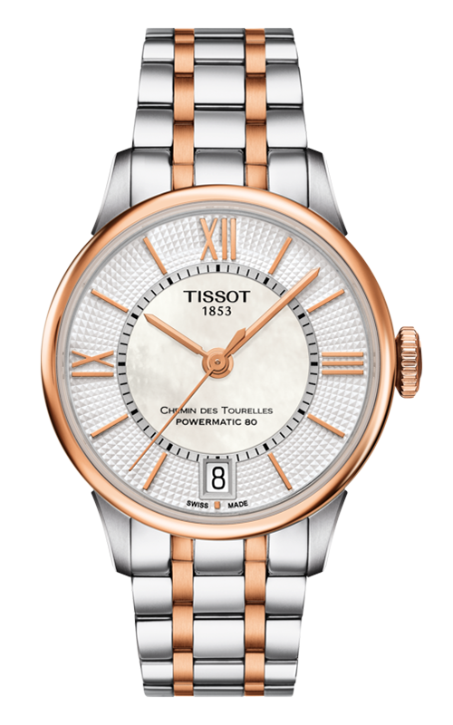 Tissot Chemin Des Toureless Powermatic 80 Lady Watch T0992072211802 product image