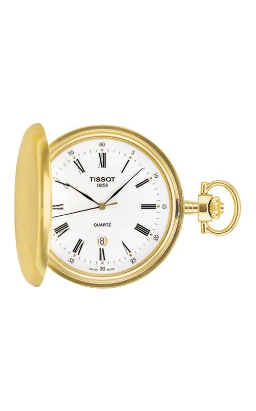 Tissot T-Pocket Savonnette Quartz Watch T83455313 product image
