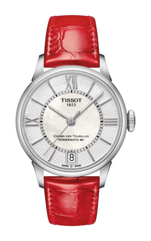 Tissot T-Classic Chemin Des Toureless Powermatic 80 Lady Watch T0992071611800 product image