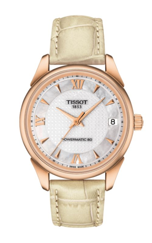 Tissot T-Gold Vintage Powermatic Watch T9202077611800 product image