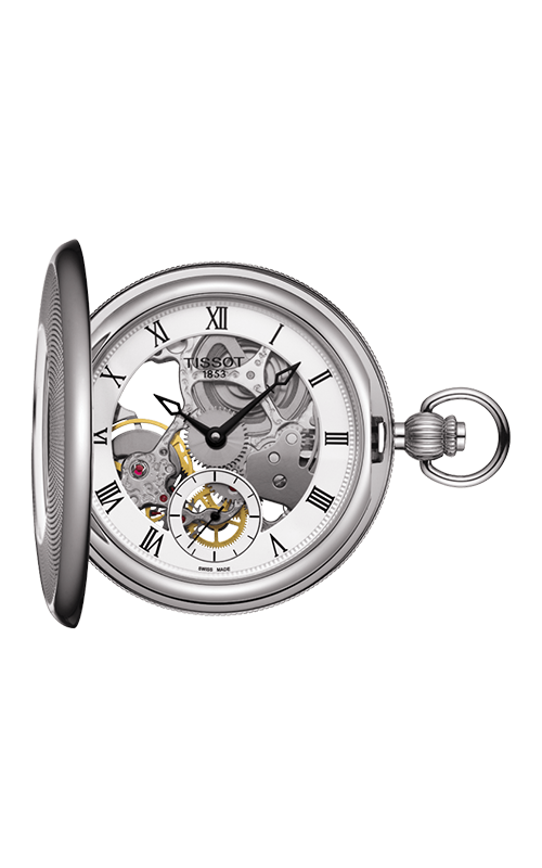 Tissot Pocket Mechanical Skeleton Watch T8594051927300 product image