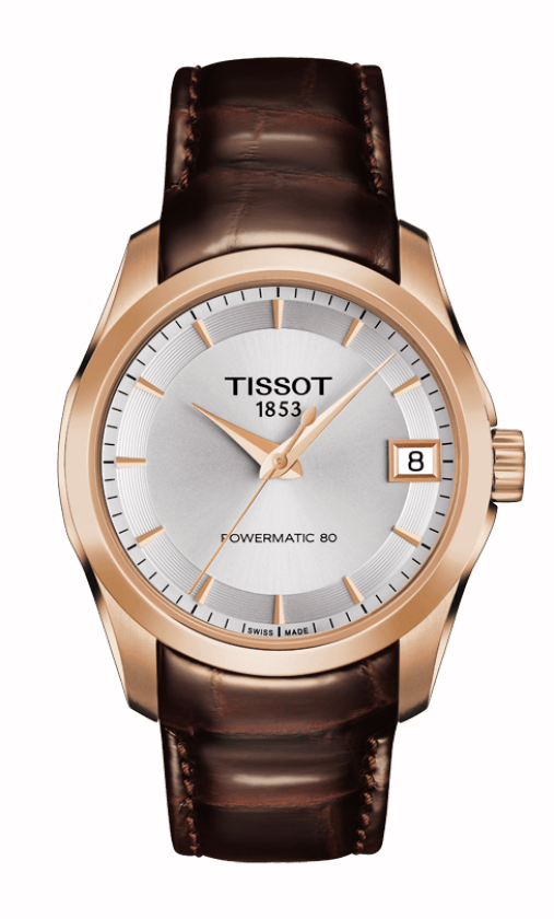 Tissot T-Classic Couturier Powermatic 80 Lady Watch T0352073603100 product image