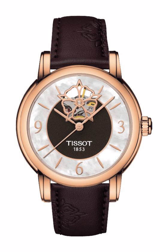 Tissot T-Lady Heart Powermatic 80 Watch T0502073711704 product image