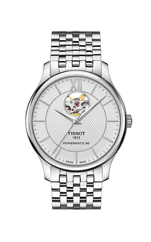 Tissot Tradition Powermatic 80 Open Heart T0639071103800 product image