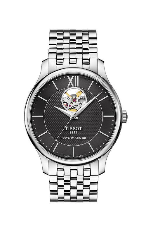 Tissot Tradition Powermatic 80 Open Heart T0639071105800 product image