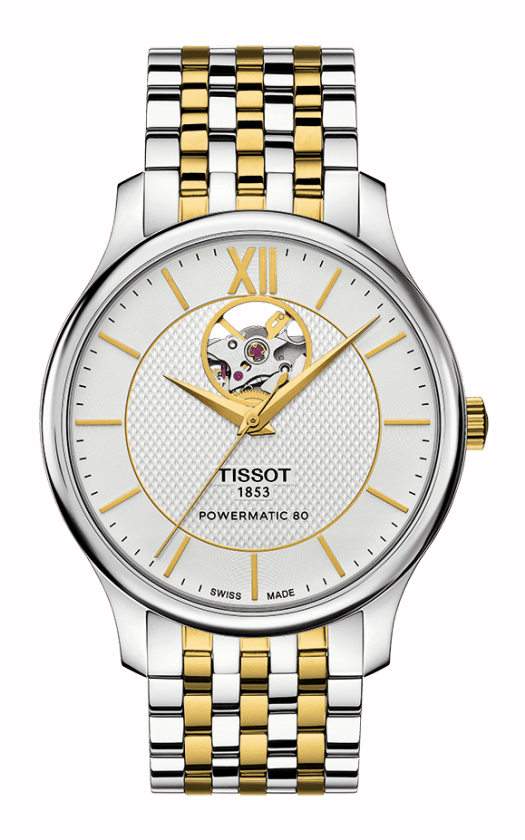 Tissot Tradition Powermatic 80 Open Heart T0639072203800 product image