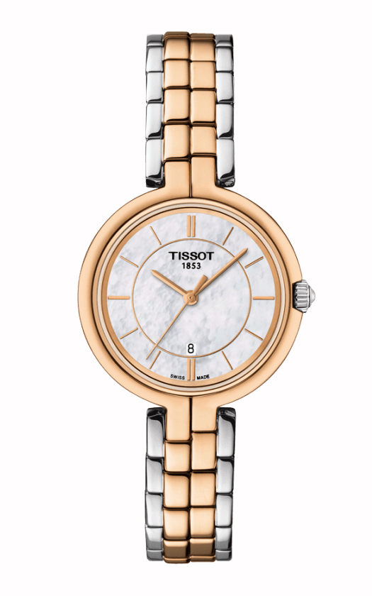 Tissot T-Lady Flamingo Watch T0942102211100 product image
