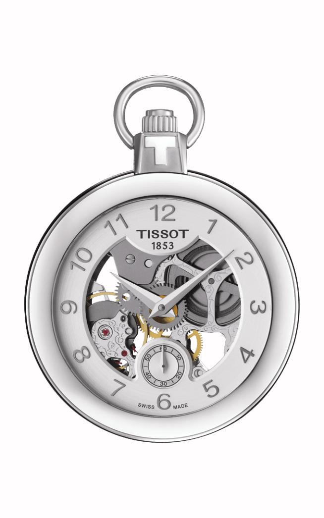 Tissot T-Pocket Mechanical Skeleton Watch T8534051941200 product image
