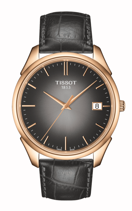 Tissot T-Gold Vintage 18K Rose Gold Watch T9204107606100 product image