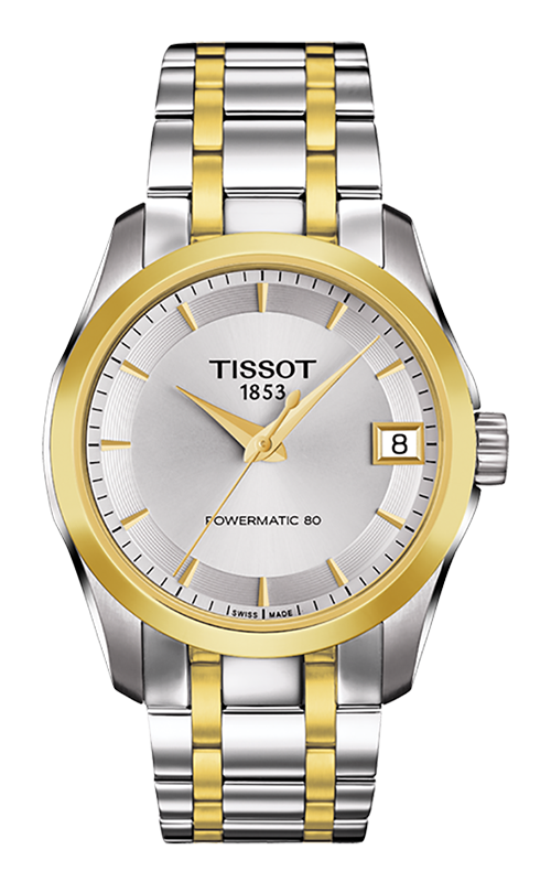 Tissot T-Classic Couturier Powermatic 80 Lady Watch T0352072203100 product image