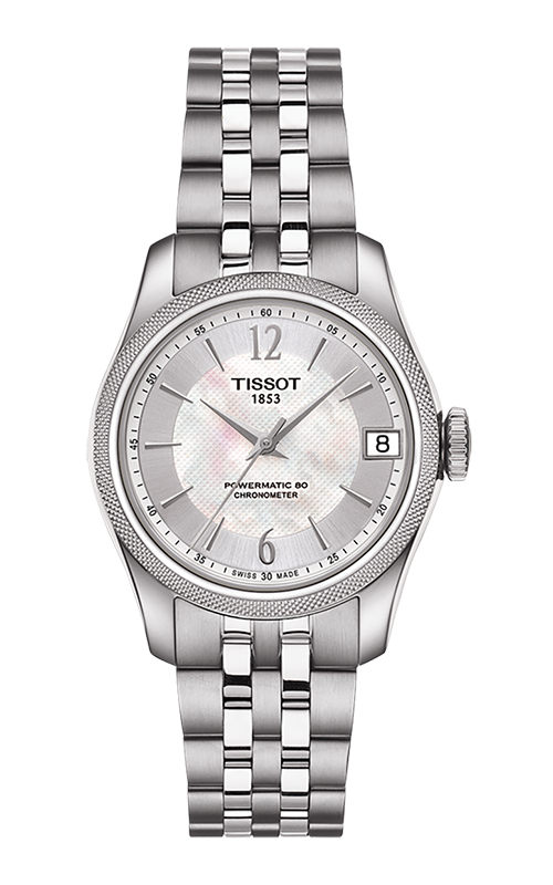 Tissot T-Classic Ballade Powermatic 80 Cosc Lady Watch T1082081111700 product image