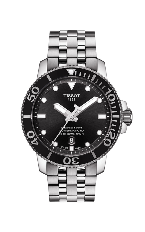 Tissot T-Sport Seastar 1000 Powermatic 80 Watch T1204071105100 product image