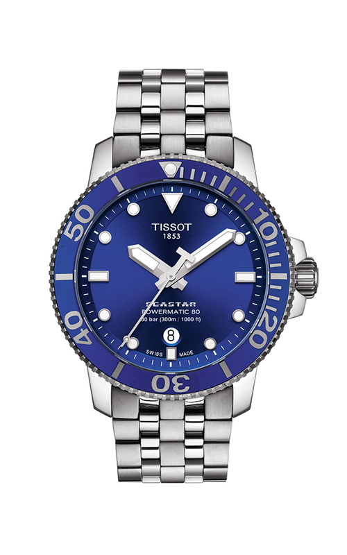 Tissot T-Sport Seastar 1000 Powermatic 80 Watch T1204071104100 product image