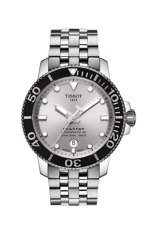 Tissot T-Sport Seastar 1000 Powermatic 80 Watch T1204071103100 product image