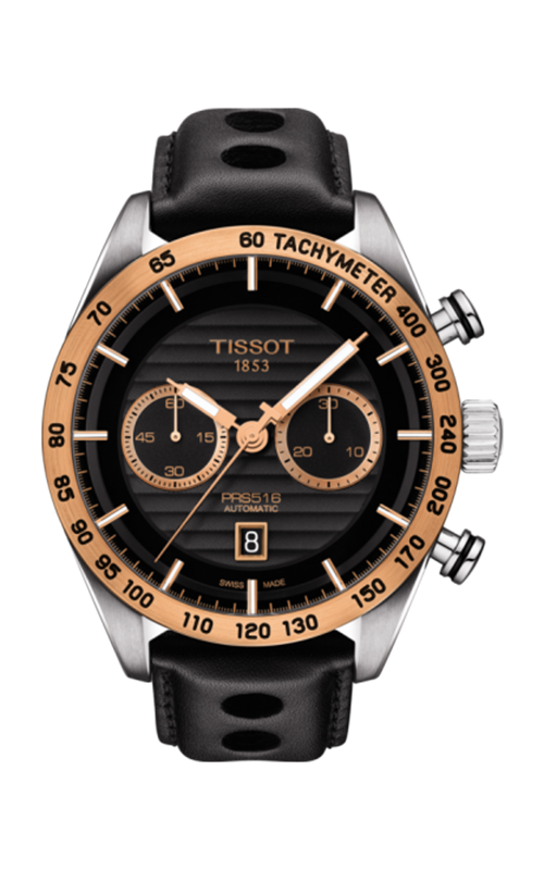 Tissot PRS 516 18K Gold Watch T9254274605101 product image