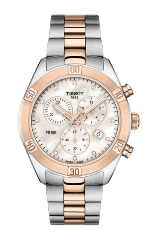 Tissot T-Sport  PR 100 Sport Chic Chronograph Watch T1019172211600 product image
