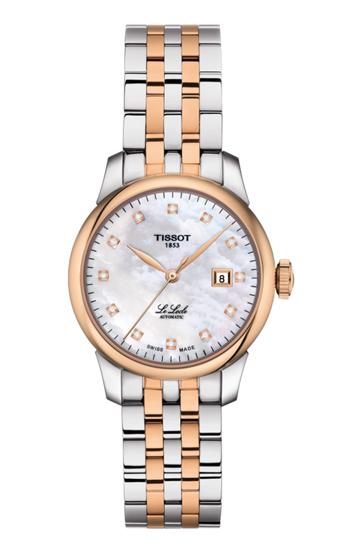 Tissot T-Classic Le Locle Automatic Lady Watch T0062072211600 product image