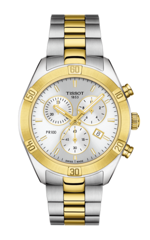 Tissot T-Sport PR 100 Sport Chic Chronograph Watch T1019172203100 product image
