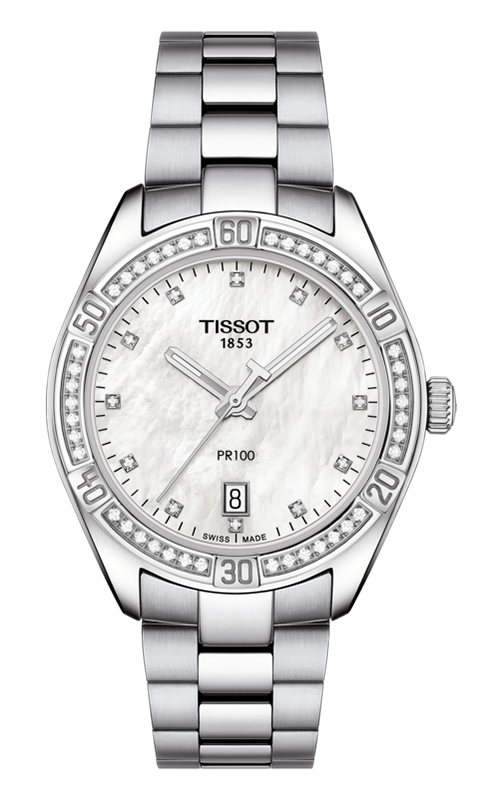 Tissot T-Classic PR 100 Lady Sport Chic Special Edition Watch T1019106111600 product image