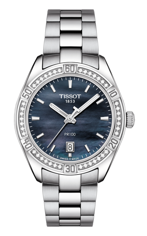 Tissot T-Classic PR 100 Lady Sport Chic Special Edition Watch T1019106112100 product image