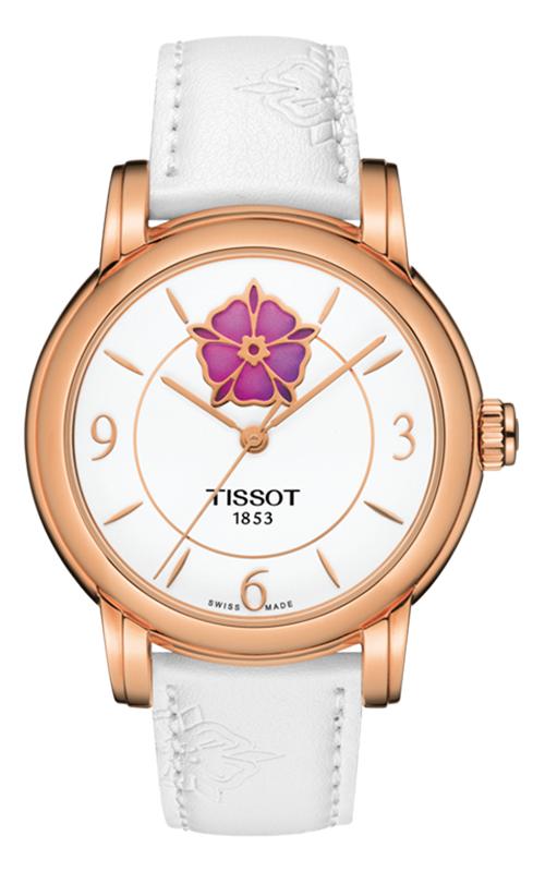 Tissot T-Lady Heart Flower Powermatic 80 Watch T0502073701705 product image