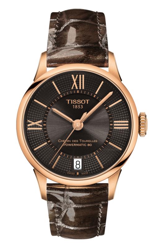 Tissot T-Classic Chemin Des Toureless Powermatic 80 Lady Watch T0992073644800 product image