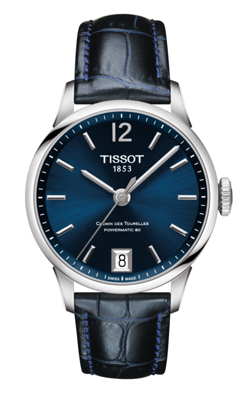Tissot T-Classic Chemin Des Toureless Powermatic 80 Lady Watch T0992071604700 product image