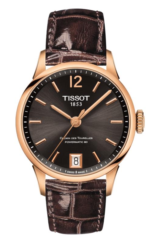Tissot T-Classic Chemin Des Toureless Powermatic 80 Lady Watch T0992073644700 product image