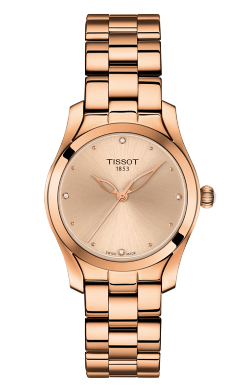 Tissot T-Lady T-Wave Watch T1122103345600 product image