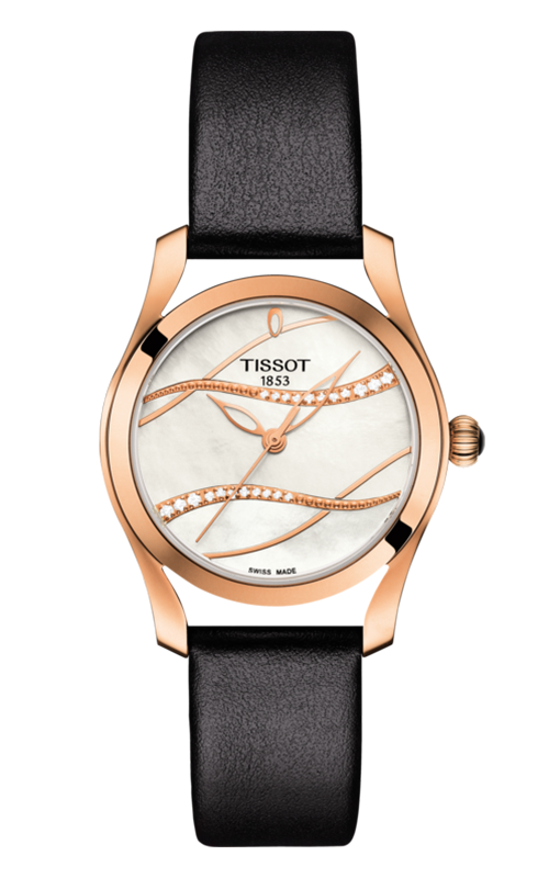 Tissot T-Lady T-Wave Watch T1122103611100 product image