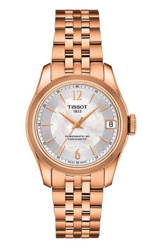 Tissot T-Classic Ballade Powermatic 80 Cosc Lady Watch T1082083311700 product image
