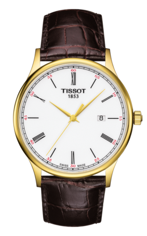 Tissot T-Gold Rose Dream Watch T9144104601300 product image