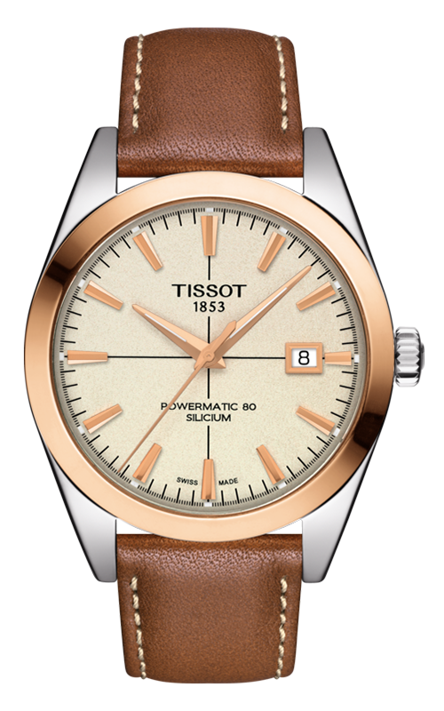 Tissot T-Gold Gentleman Automatic Watch T9274074626100 product image
