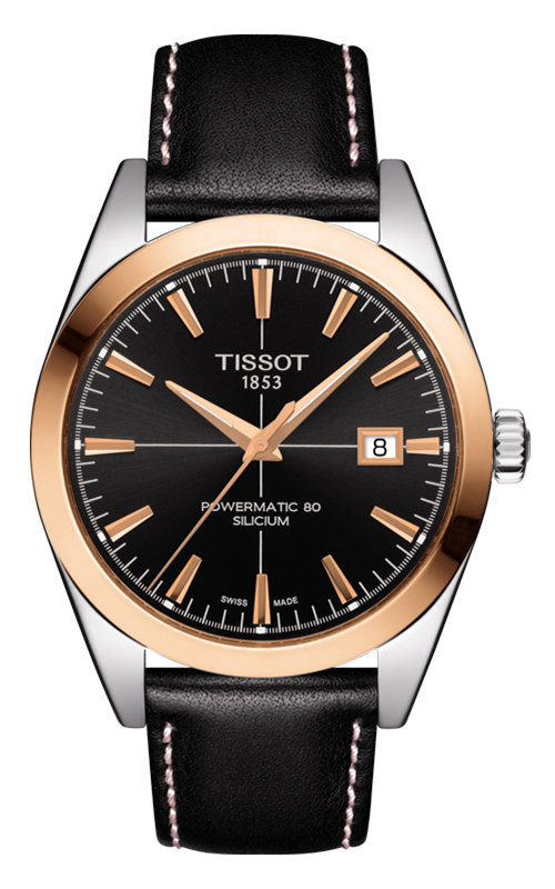 Tissot T-Gold Gentleman Automatic Watch T9274074605100 product image