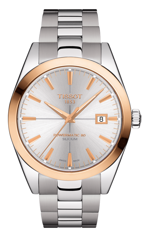 Tissot T-Gold Gentleman Automatic Watch T9274074103100 product image