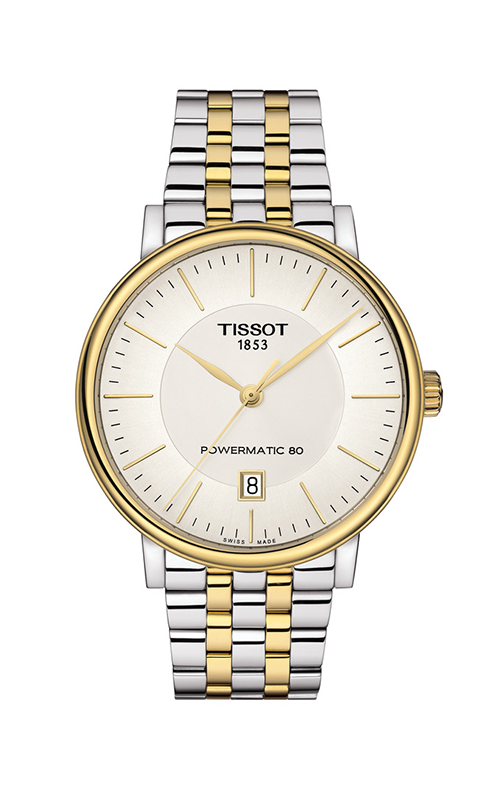 Tissot T-Classic Carson Premium Powermatic 80 Watch T1224072203100 product image