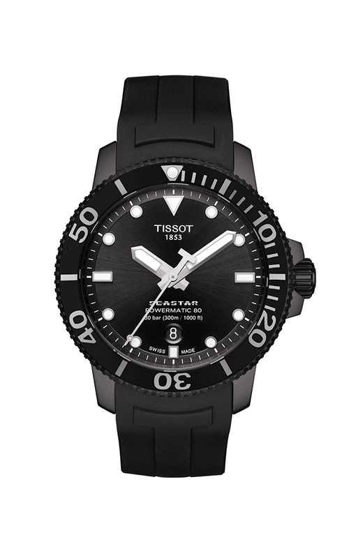 Tissot T-Sport Seastar 1000 Powermatic 80 Watch T1204073705100 product image