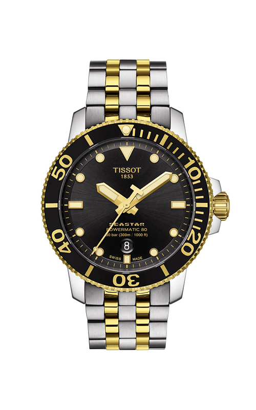 Tissot T-Sport Seastar 1000 Powermatic 80 Watch T1204072205100 product image