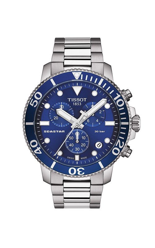 Tissot T-Sport Seastar 1000 Chronograph Watch T1204171104100 product image